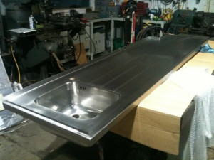 ss catering sink