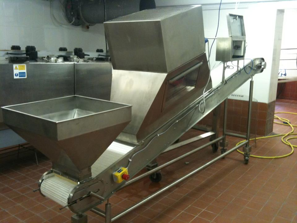 Bespoke Stainless Steel Food Processing Equipment