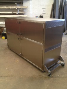 ss mobile cabinet